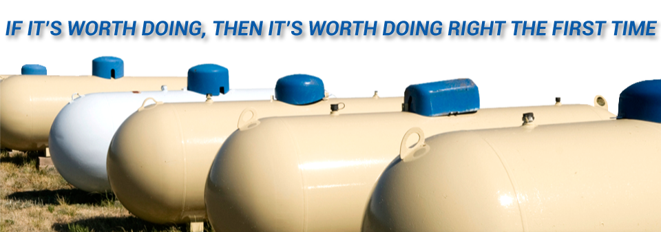 If it's Worth Doing, Then it's Worth Doing Right The First Time | propane tanks for a propane gas range in Edmonton - propane Edmonton